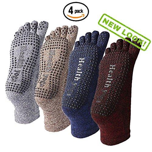 YoFlex Premium Non Slip Socks Pilates
