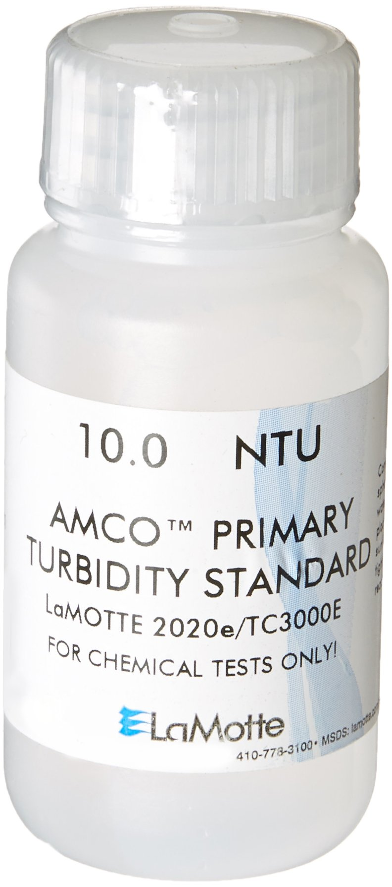 LaMotte 1485 Turbidity Standard (EPA) for 2020E/TC-3000E Turbidity Meter, 10 NTU, 60ml Volume by LaMotte