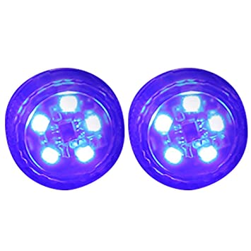 Starnearby 2pcs Car Door Opening Warning Light, Magnetic Wireless LED  Decorative Light Waterproof Strobe Automatic Warn Lamp Universal for Anti