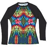 Dakine Women's Maira Rashguard L/S Shirt M, Cha Cha Cha