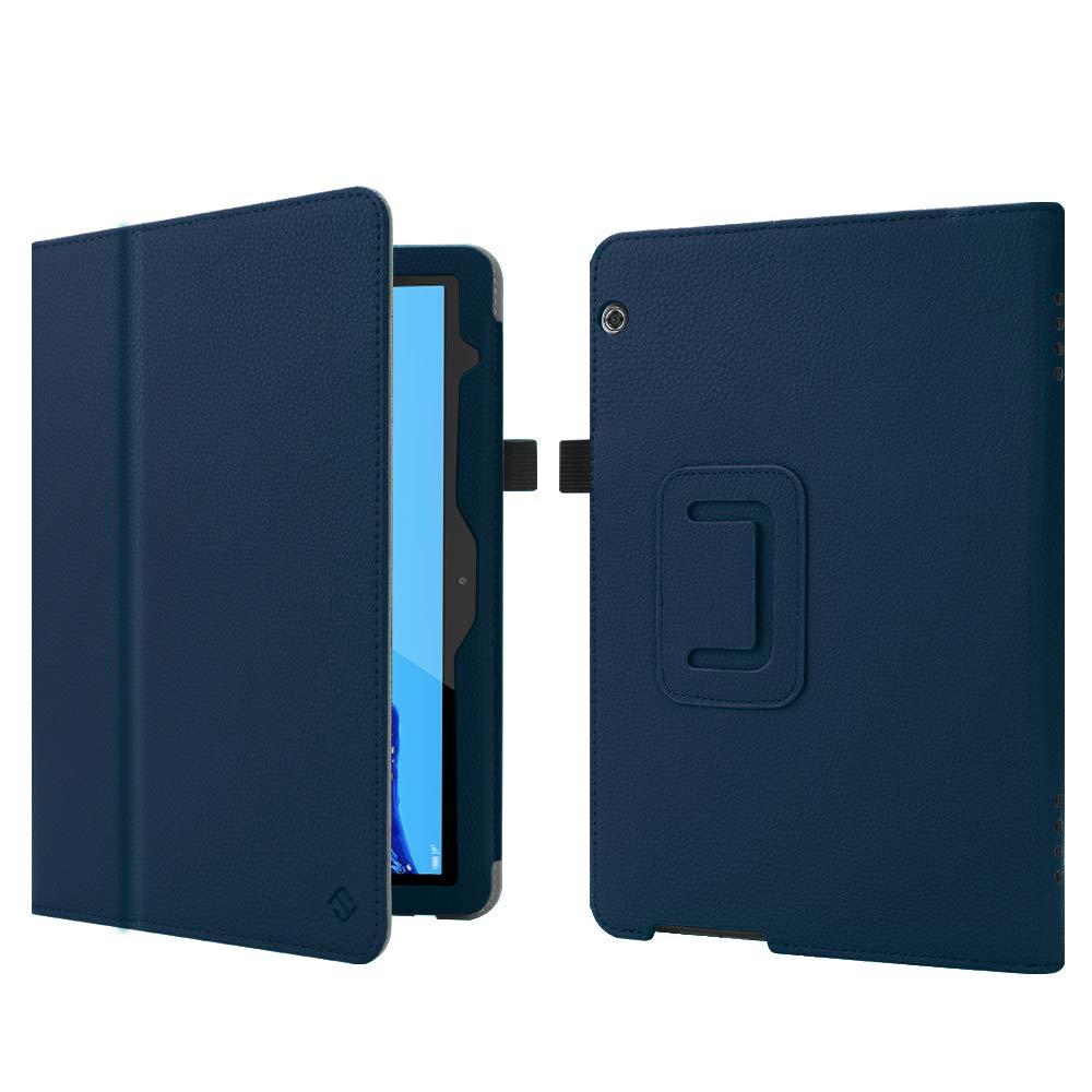 Slim Fit Smart/Folio Protettiva Custodia Cover in Pelle PU per Huawei Mediapad T5 10.1 Pollici 2018 FINTIE Custodia Cover per Huawei MediaPad T5 10 Nero