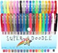 Super Doodle 36 Color Gel Pen Set