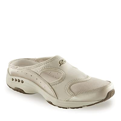 Easy Spirit Womens Instep Athletic Mules 8 Gold