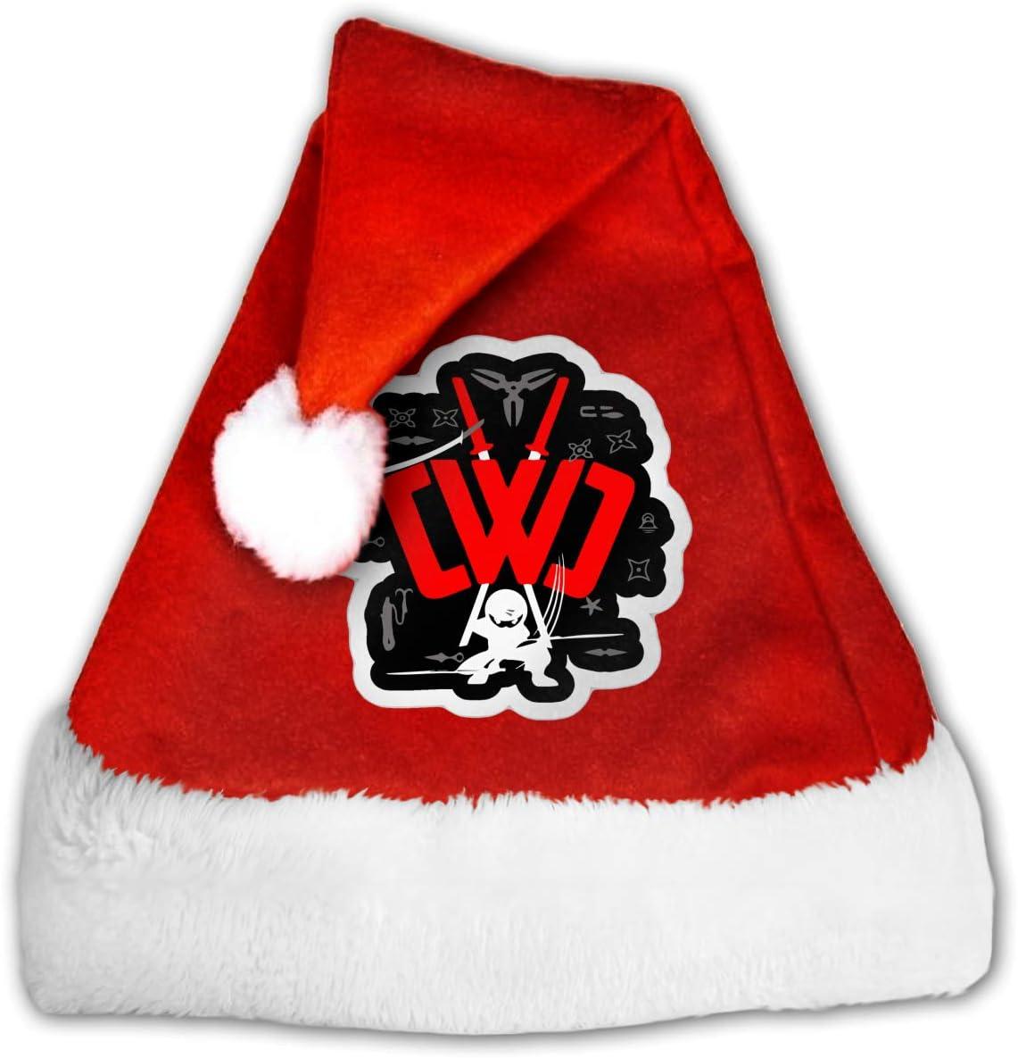 Amazon.com: CWC Chad Wild Clay Ninja (4) Christmas Santa Hat ...