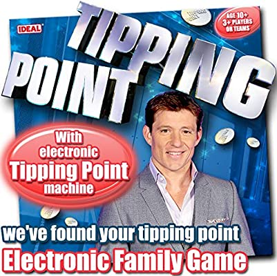 Tipping Point Electronic Family Party TV Show Board Game Table Game Family Fun