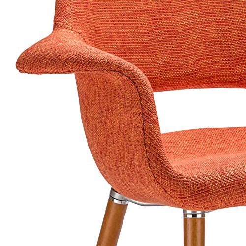 Poly and Bark Barclay Dining Chair in Orange (Set of 2) by Poly and Bark (Image #6)