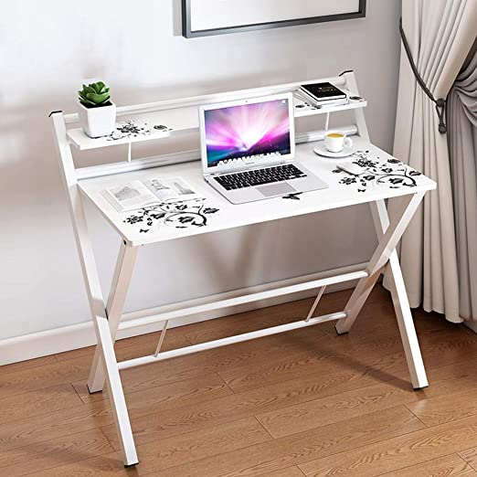 TT-Folding table Escritorio Casa Sencilla De Madera Simple ...