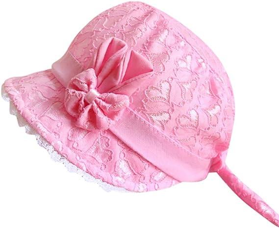 Bébé Enfant Filles Princesse Chapeau Tricoté Creux Fleur Bonnet Casquette Cadeau
