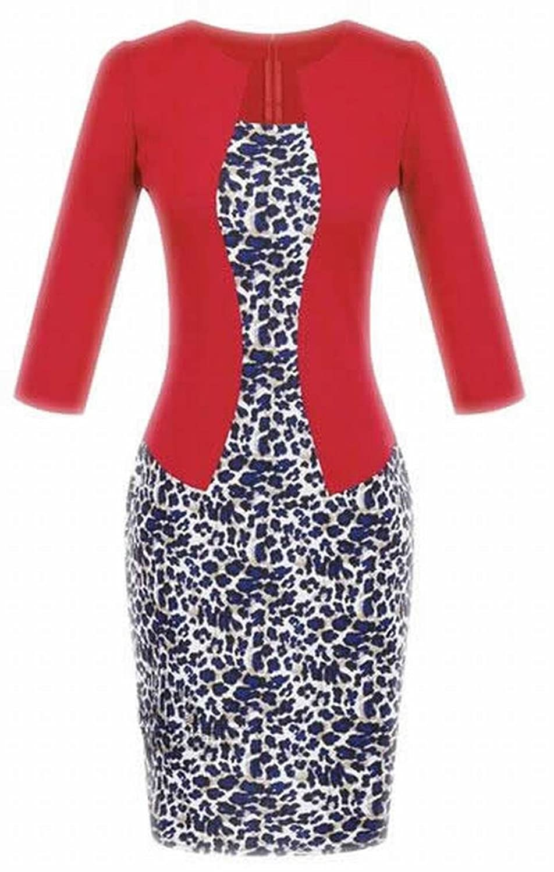 NQ Women's Elegant Wear to Work Bodycon One-pieces Dresses