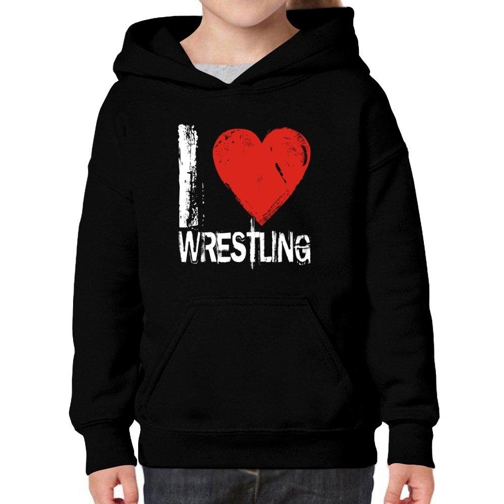 Teeburon Love Wrestling Girl Hoodie