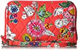 Vera Bradley Rfid Grab and Go Wristlet-Signature, Coral Floral