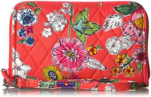 Vera Bradley Rfid Grab and Go Wristlet-Signature, Coral Floral