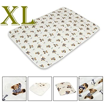 Baby Changing Pad Infant Breathable Cotton Nappy Cover Multifunctional Urine Mat