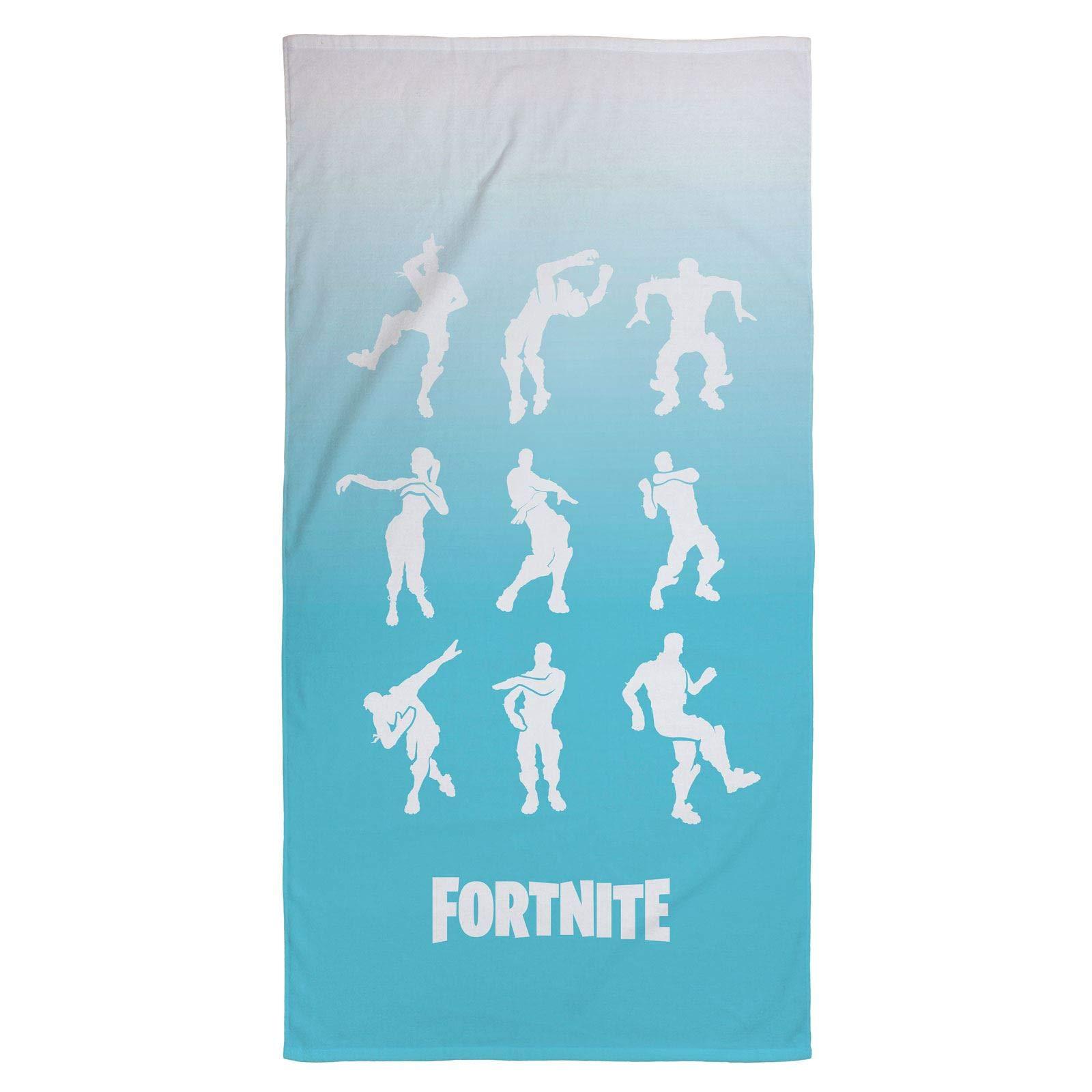 Fortnite Emotes Dance Kids Bath/Pool/Beach Towel - Super Soft & Absorbent Fade Resistant Cotton Towel, Measures 28 inch x 58 inch