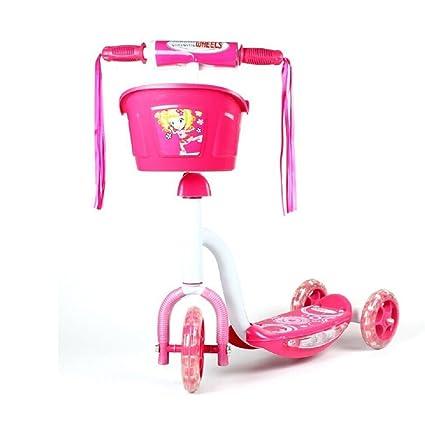 Amazon.com: Rosa chromewheels Pixie glidekick Scooter 3 ...