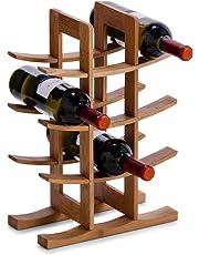 Zeller 13580Scaffale per vino, Bamboo, 29x 16x 42