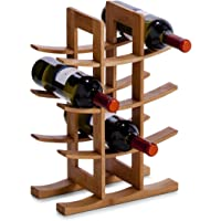 Zeller 13580 Étagère à vin en Bambou 29 x 16 x 42 cm