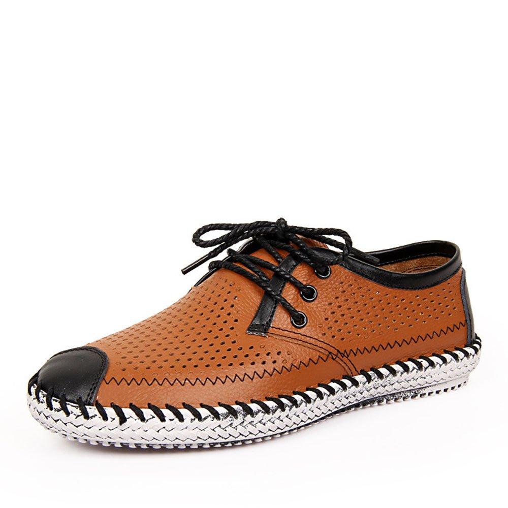 Zapatos Hechos a Mano Zapatos de Playa Ocasionales Respirables de la Playa 39 1/3 EU Marrón