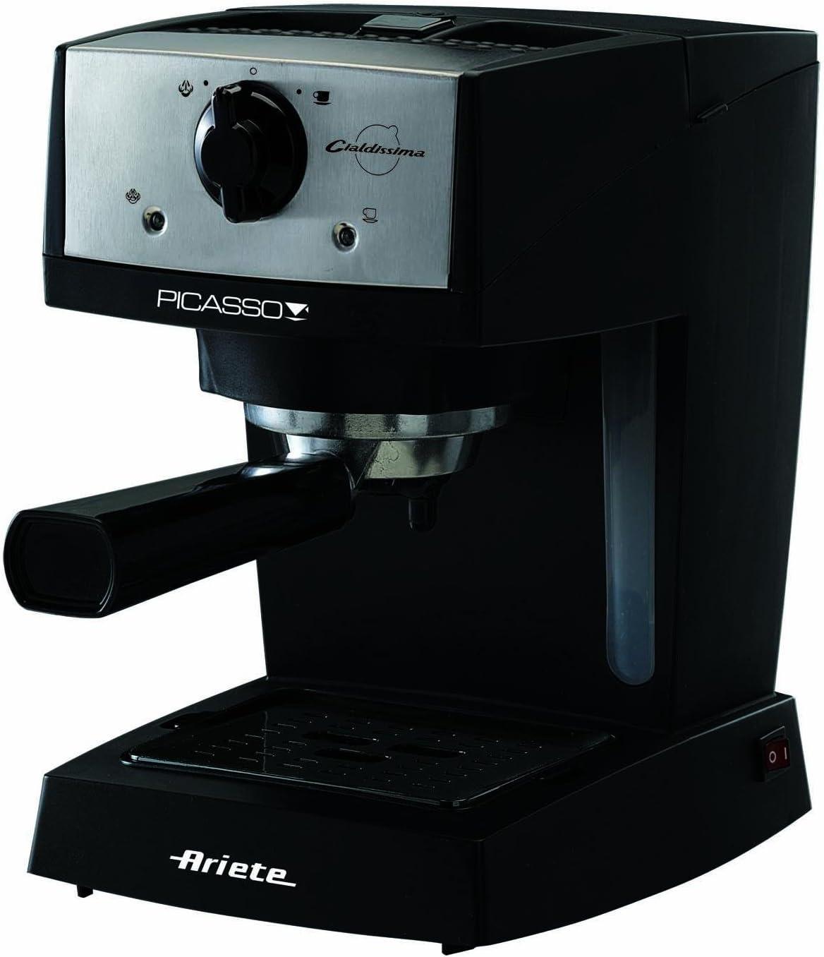 ARIETE M/CAFFE PICASSO CIALDISSIMA 1366 portafiltro ADDIZIONALE X cialde ESE: Amazon.es: Hogar