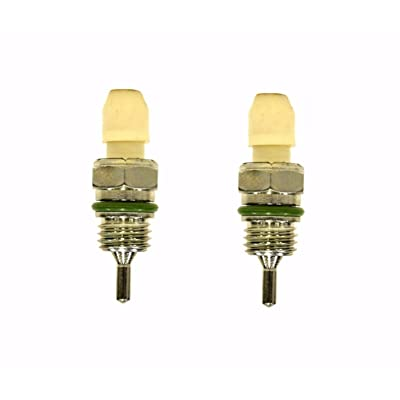 Set of 2 A/C Temperature Sensor Thermistors For International Navistar 4200 4300 4400: Automotive
