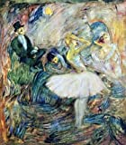 "16"" x 20"" Henri De Toulouse-Lautrec The Dancer in Her Dressing Room premium canvas print reproduced to meet museum quality standards. Our museum quality canvas prints are produced using high-precision print technology for a more accurate reproduction..."