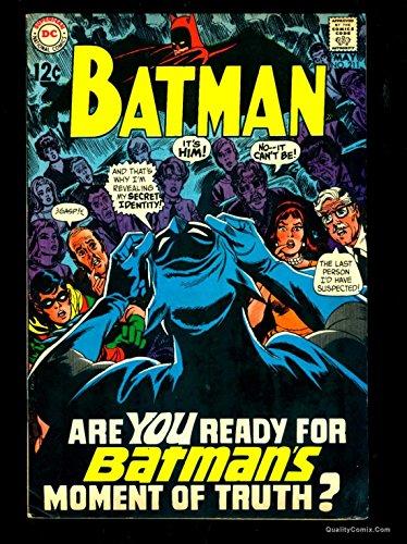 Batman #211 FN 6.0 Off-White