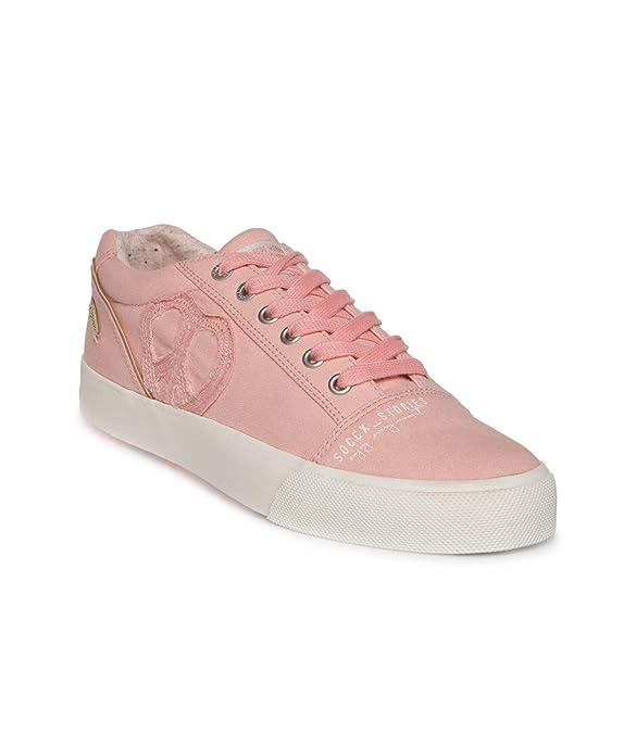 SOCCX Damen Sneakers SCU 1855 8177 Rosy Sun eine Neue