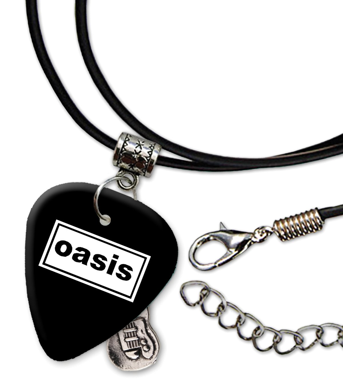 Oasis Band Logo Collana di corda di chitarra plettro (H) We Love Guitars