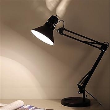 OliaDesign Swing Arm Desk Lamp With Base A19 Bulb, 33.86u0026quot;, ...