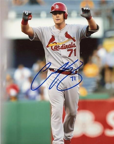 Autographs-original Sports Mem, Cards & Fan Shop Fine Matt Carson Signed Majorleague Baseball Money Back Guaranteed 100% Authentic Buy One Give One