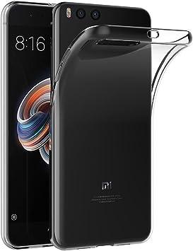 AICEK Funda Xiaomi Mi Note 3, Transparente Silicona Fundas para ...