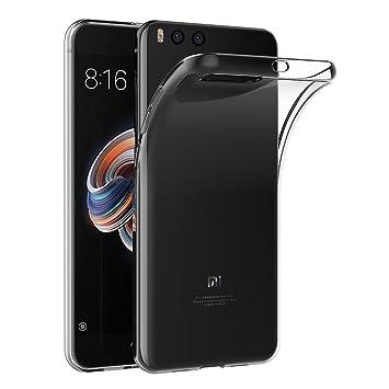 AICEK Funda Xiaomi Mi Note 3, Transparente Silicona Fundas para Xiaomi Note 3 Carcasa Silicona Funda Case (5,5 Pulgadas)