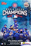 Chicago Cubs 2016 Topps World Series CHAMPIONS Factory Sealed Hanger Box Set with Kris Bryant, Kyle Schwarber, Addison Russell, Anthony Rizzo, David Ross, Jake Arrieta & More! 108 Years in the Making!