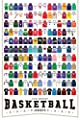 A Visual Compendium of Basketball Jerseys Poster Print (24 x 36) by Pop Chart Lab