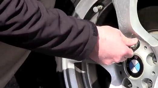 McGard 28320 Chrome//Black Bolt Style Radius Seat Lock Bolt Set