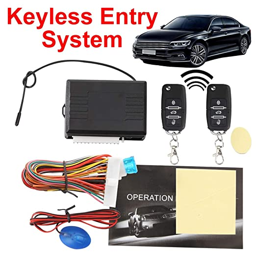 YSHtanj Sistema de entrada sin llave para coche con sistema ...