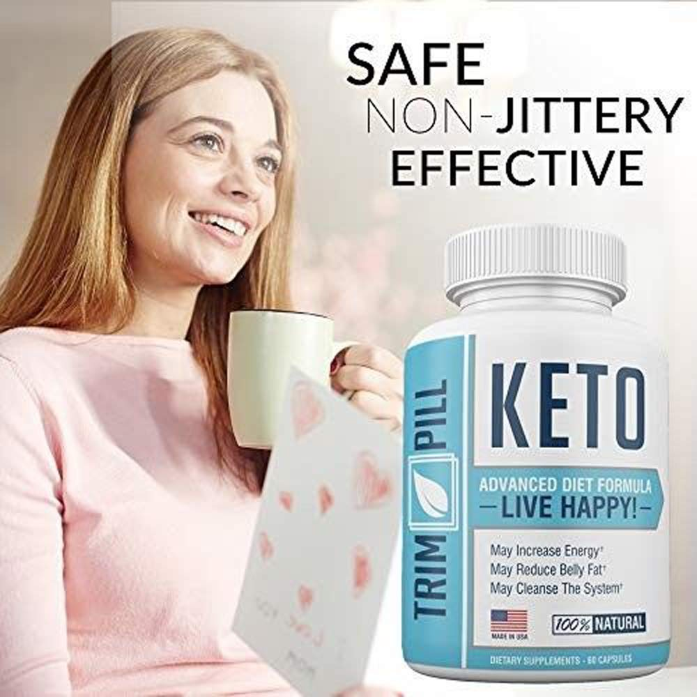 Trim Pill Keto Advanced Diet Formula - BHB Carb Blocker Supplements - 100% Natural - 30 Day Supply - 60 Capsules (1 Month Supply) by Trim Pill Keto (Image #4)