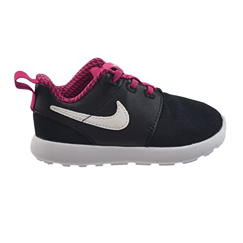 Nike Roshe One (TDV) Infant Baby Toddlers Shoes BlackWhite-Sport Fuchsia