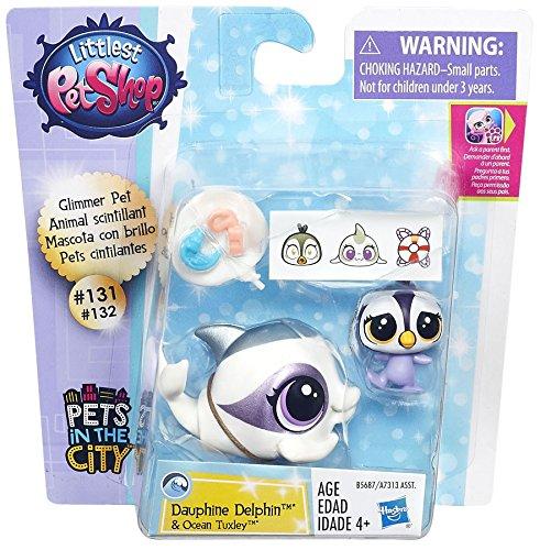 Littlest Pet Shop Dauphine Delphin & Ocean Tuxley