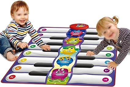 Juguetes para niños bebé Muchas Personas Toque Teclado pie ...