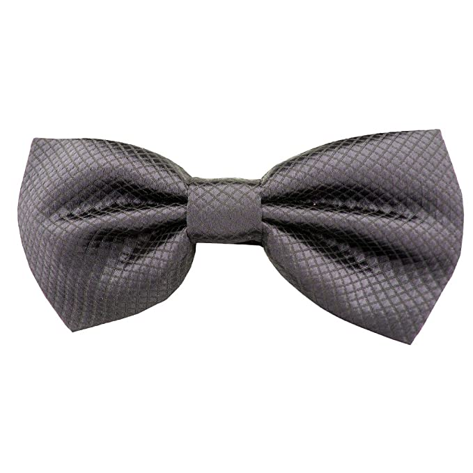 DQT Knit Knitted Thin Stripe Green with Burgundy White Mens Pre-Tied Bow Tie