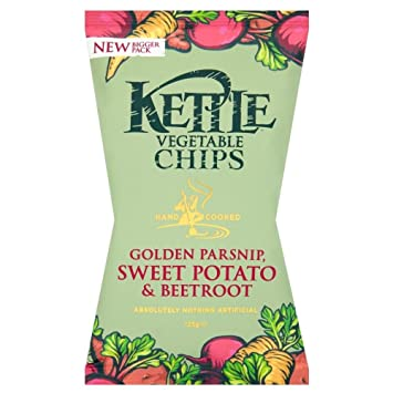 Review Kettle Chips - Vegetable
