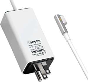 85W Charger for MAC MacBook Pro 15 inches 17 inches (Made Before Mid 2012),Replacement for Magsafe 1 L-tip Power Adapter