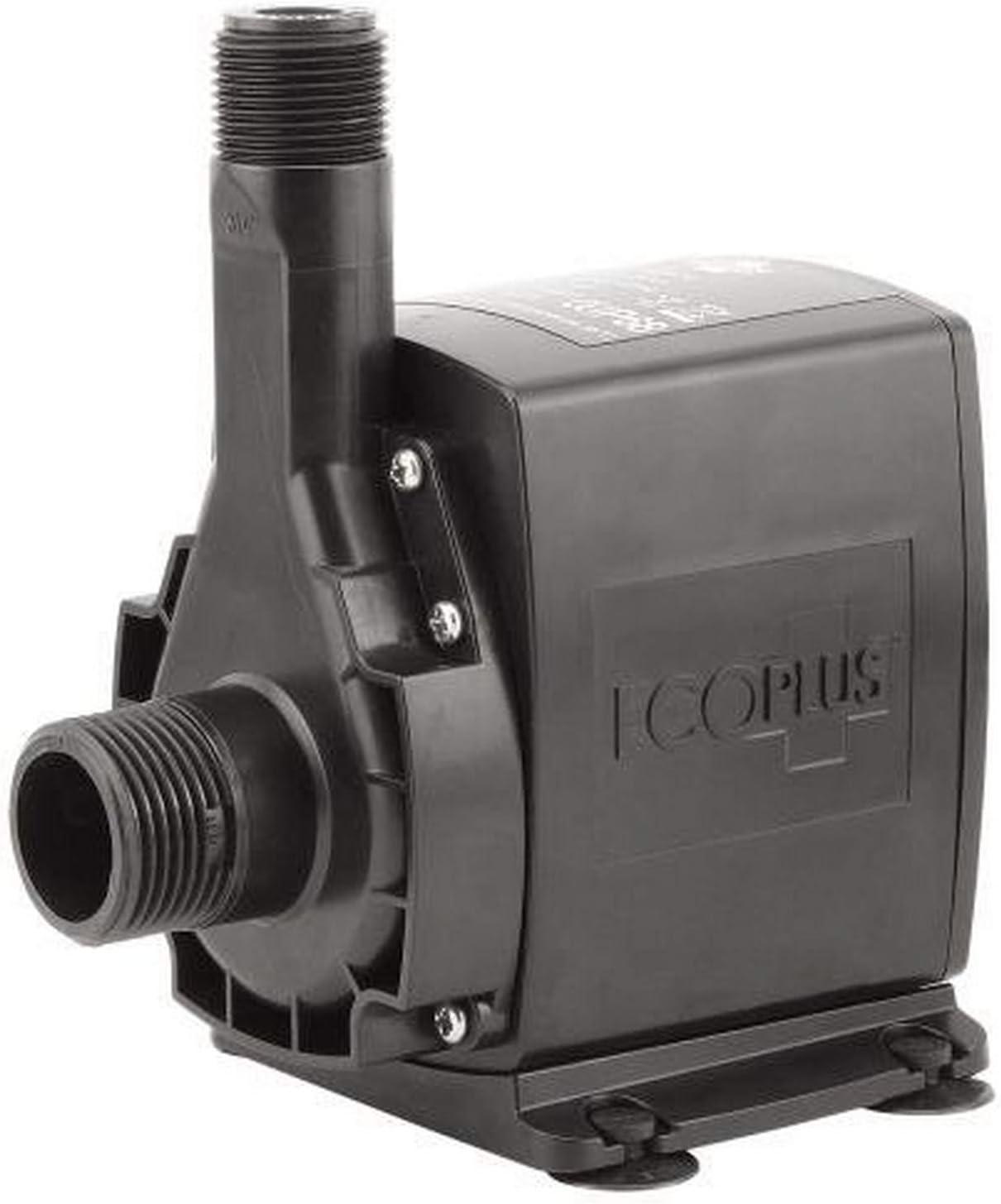 Eco Plus 748465 Submersible Water Pump, 700 GPH, Black