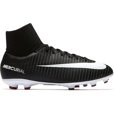 new arrival b257b 2fdf5 Nike JR Mercurial Victory VI DF FG - Scarpe da Calcio, Unisex, per ...