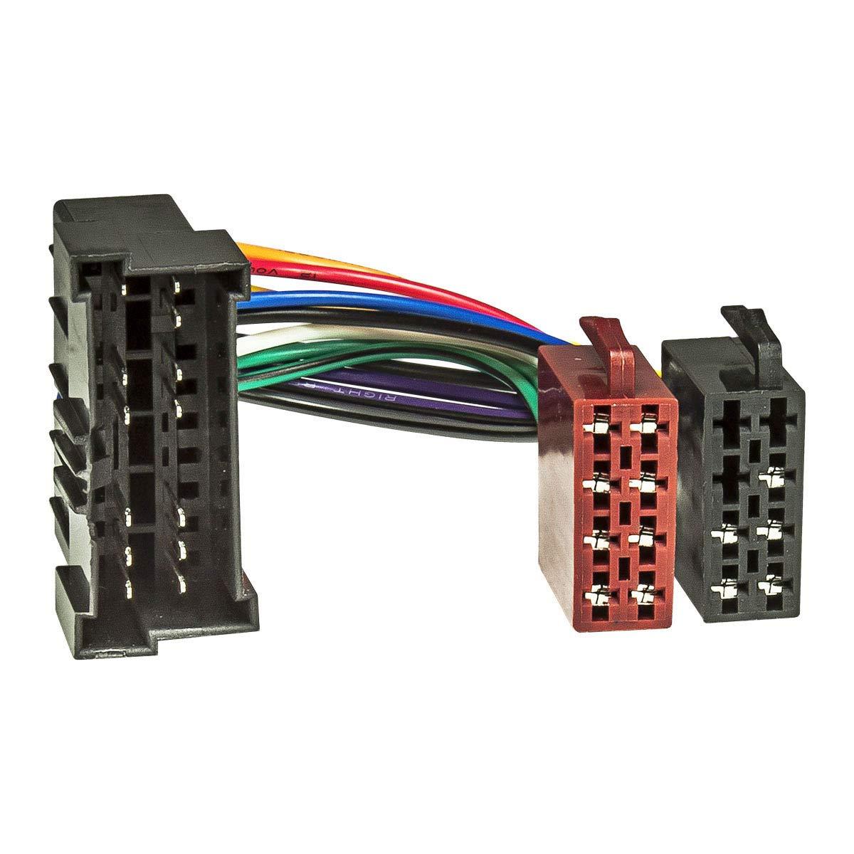 /électricit/é haut-parleurs Baseline connect c/âble adaptateur pour autoradio sur hYUNDAI 1998 et kIA 2002 sur iSO