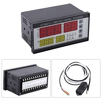 Estink Controlador automático de la incubadora de huevos Controlador digital de la humedad de la temperatura