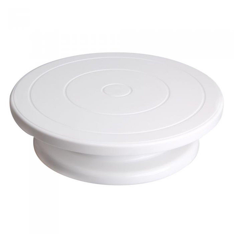 Verde plástico parte inferior antideslizante para tartas ...