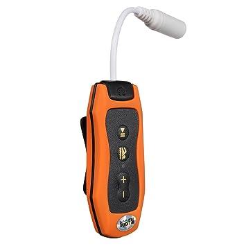 8 Gb Mp3 Player Schwimmen Tauchen Spa Fm Radio Wasserdichte Kopfhörer Grün Unterhaltungselektronik Hifi-geräte