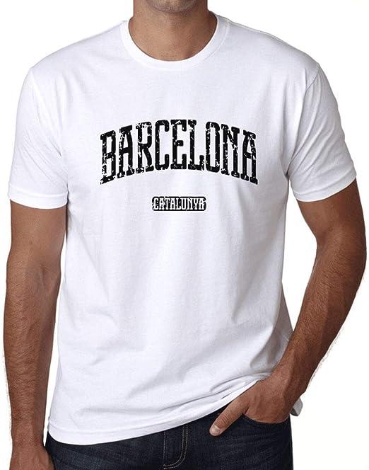 Ultrabasic - Camiseta para Hombre Barcelona Catalunya ...
